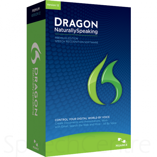 Dragon NaturallySpeaking v12 Premium Left