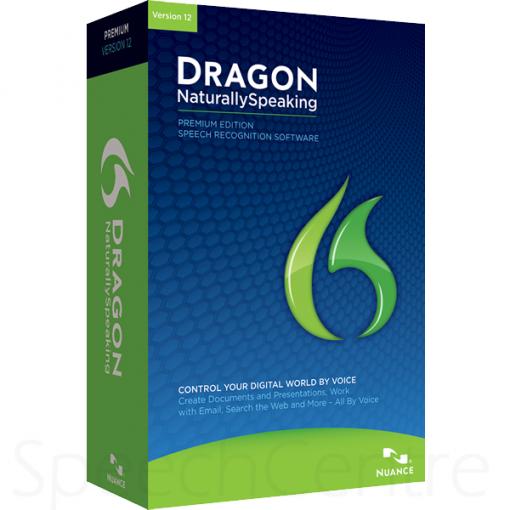 Dragon NaturallySpeaking v12 Premium Left