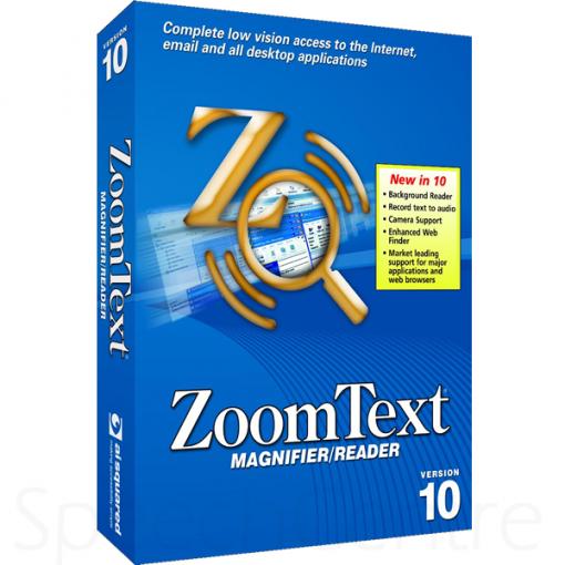 ZoomText Magnifier Reader v10
